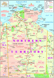 northern map territory map