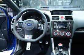 subaru wrx interior 2018 subaru wrx sti returns to the uk priced from 28 995 4k lower