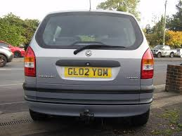 used 2002 vauxhall zafira club dti 16v for sale in polegate east