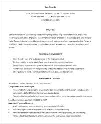 Resume Template Business 100 Business Analyst Resume Templates Samples Essay The Epic Of