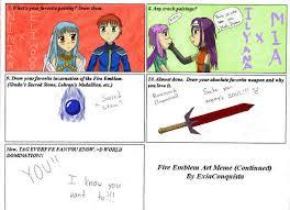 Meme Emblem - fire emblem art meme part 2 by exiaconquista on deviantart