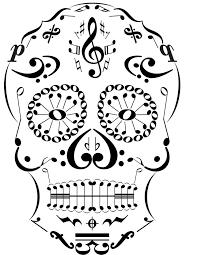 45 best sugar skull tattoo designs music images on pinterest