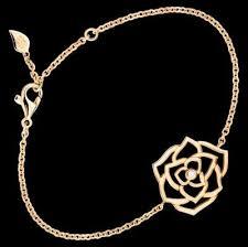 piaget bracelet bracelet in 18k gold set with a brilliant cut diamond