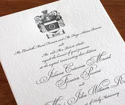 new letterpress wedding invitation designs an invite fit for a