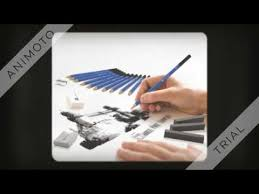 26 piece drawing and sketching pencil art set youtube