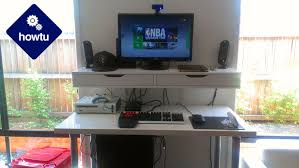 Standing Desk For Gaming How To Build A Healthier Pc Gaming Table For 200