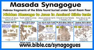 first century synagogue top plans masada 78 bc