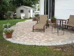 Backyard Ideas Patio Backyard Pavers Designs Home Outdoor Decoration
