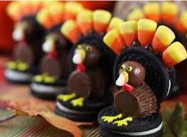 thanksgiving food crafts oreo turkey s