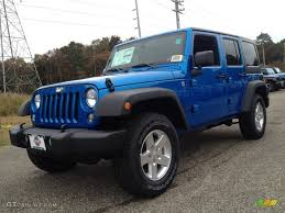 jeep wrangler pickup black 2015 hydro blue pearl jeep wrangler unlimited sport 4x4 98092742