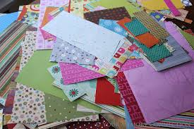 quick tip organizing pattern paper scraps your memory connection