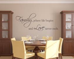 online get cheap wall decals phrases aliexpress com alibaba group family where life begins and love never ends wall decal family phrase wall decal quote vinyl stickers adesivo de parede a719