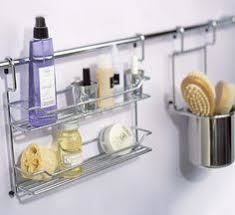 bathroom caddy ideas add an shower curtain rod to the shower and hang caddies