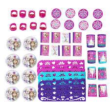 Favor Set by Frozen Birthday Supplies Theme Packs