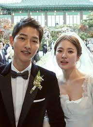 wedding wishes songs song joong ki and song hye kyo release gorgeous wedding photos
