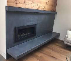 concrete fireplace surrounds unique and modern 5 feet from the moon