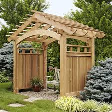 Garden Arch Plans by Garden Garden Arbor With Gate Intended For Breathtaking Garden