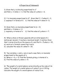 direct and inverse proportion worksheets by mrbuckton4maths