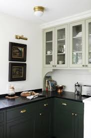 a kitchen renovation to remind you that nooks are always the green on green in a ravenna kitchen