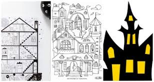 printable spooky house 20 haunted house activities for kids one time through