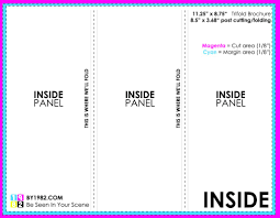 z fold brochure template indesign tri fold brochure template free thebridgesummit best