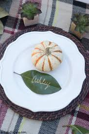 thanksgiving place cards ideas diy leaf place cards for thanksgiving a cup full of sass