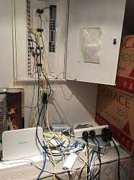 Home Network Closet Design Troy Hunt Wiring A Home Network From The Ground Up With Ubiquiti