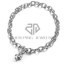 snake chain charm bracelet images Stainless steel snake chain charm bracelet home jpg