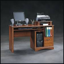 Under Desk Printer Stand Wood by Sauder Planked Cherry Computer Desk
