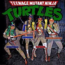 rihanna back on instagram in ninja turtles halloween costume