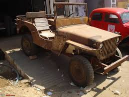 willys jeep restoration of a lhd willys jeep team bhp