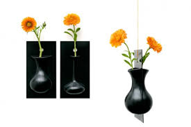 Cool Vase Cool Wall Flower Vase Flow By Ernest Perera Digsdigs