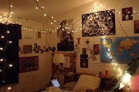 Bedroom String Lights Decorative Small Bedroom Spaces Decoration With Hanging String Lights Room