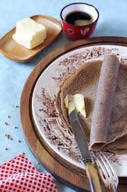 breton en cuisine breton buckwheat crepes stock image image of breakfast 73680435
