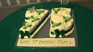 1 10 11 2012 laura u0027s grandmother u0027s 75th birthday cake youtube