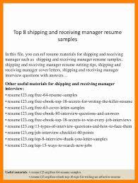 Sample Resume Warehouse by Resume Shipping Manager Resume Samples Program Finance Manager Fp