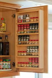 Inside Kitchen Cabinet Door Storage Best 25 Spice Racks For Cabinets Ideas On Pinterest Kitchen Inside