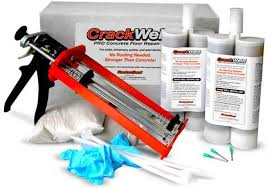 How To Fix Cracks In Concrete Patio Crackweld Concrete Floor Repair Kits For Slabs And Driveways
