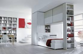 libreria ponte letto con armadio a ponte e libreria caretta design