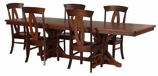 alexandria dining room table erik organic 110 x 42 alexandria dining table and rio chairs in ruby walnut and hickory
