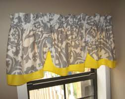 Yellow Kitchen Curtains Valances Gray And Yellow Kitchen Curtains 100 Images Yellow And Gray