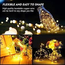 Decorative Lighting String Cymas Led String Lights 33ft 100 Led Waterproof Decorative Lights