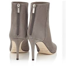 womens boots grey suede taupe grey suede ankle boots duke 85 autumn winter 16 jimmy choo