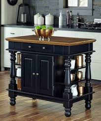 Powell Pennfield Kitchen Island Counter Stool Home Styles 5003 94 Kitchen Island Black And Distressed Oak
