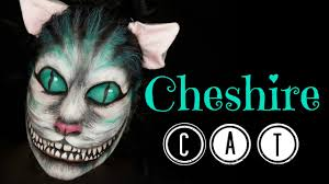 cheshire cat halloween makeup cheshire cat makeup tutorial face painting youtube