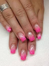15 gel french pink nail art designs u0026 ideas 2016 gel nails