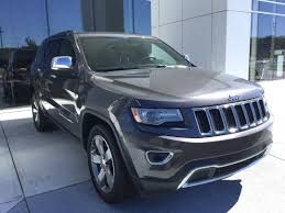 2014 blue jeep grand cherokee pre owned 2014 jeep grand cherokee limited sport utility in macon