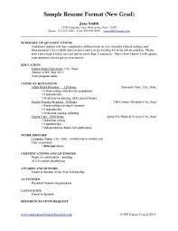 Sample Of Resume For Nurses by Download Graduate Nurse Resume Haadyaooverbayresort Com