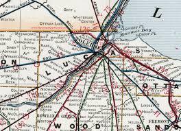 toledo ohio map lucas county ohio 1901 map toledo oh