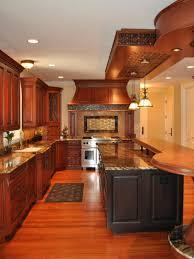 Black Kitchen Islands Rustic Brown Varnished Floor With Black Kitchen Islands And